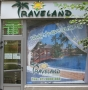 Laser cutting of volumetric letters, travel agency TRAVELAND